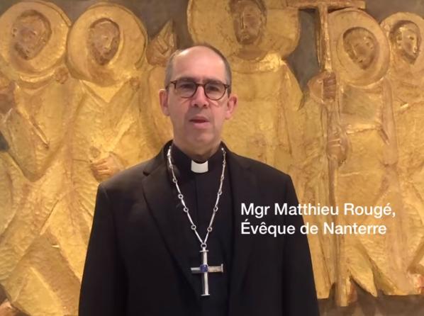 Coronavirus : message de Mgr Mathieu Rougé