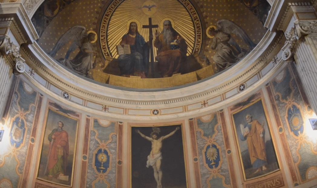 Présentation du chœur de l'église